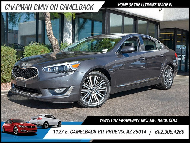 2015 Kia Cadenza Premium 38656 miles 60238522861127 E Camelback Rd Chapman Value center on