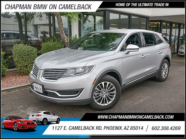 2016 Lincoln MKX Select 39985 miles 6023852286 1127 E Camelback Rd Chapman Value center on
