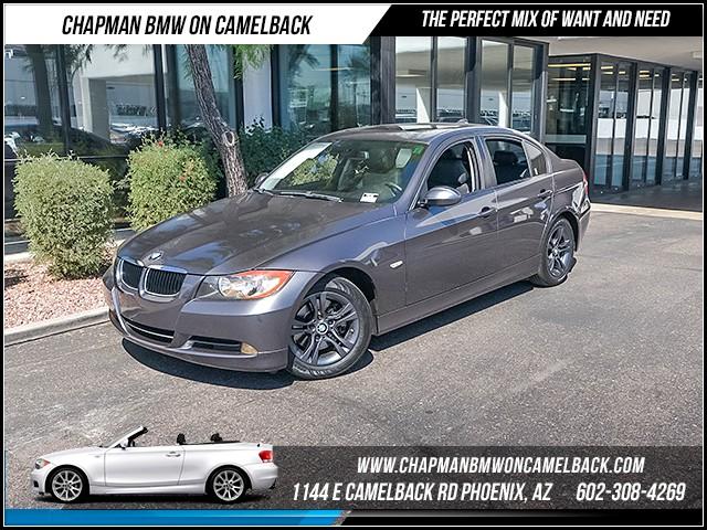 2008 BMW 3-Series Sdn 328i Prem Pkg 74163 miles 1144 E Camelback Rd 6023852286 Certified P