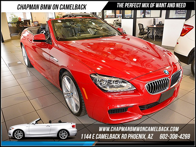 2013 BMW 6-Series 640i 36037 miles 1144 E Camelback Rd 6023852286 Certified Pre Owned Fall