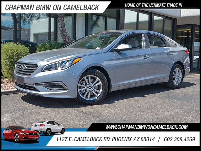 2015 Hyundai Sonata SE 35972 miles 6023852286 1127 E Camelback Rd Chapman Value center on C