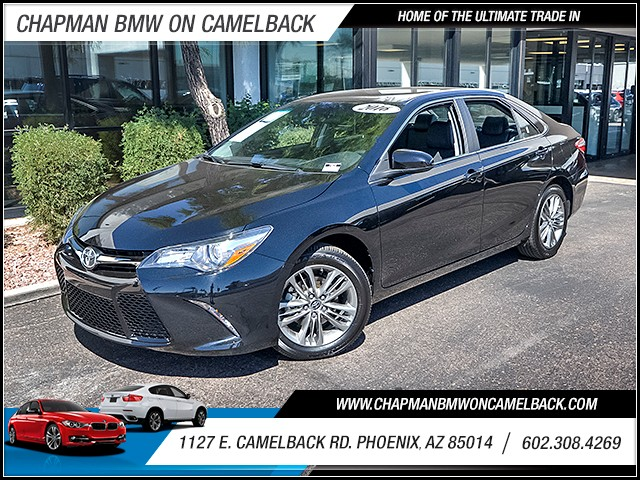 2016 Toyota Camry SE 11383 miles 60238522861127 E Camelback Rd Chapman Value center on Came