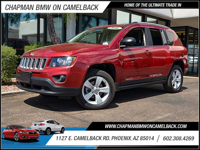 2016 Jeep Compass Sport 27897 miles 6023852286 1127 E Camelback Rd Chapman Value center on