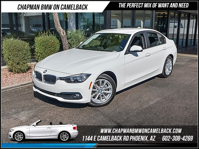 2016 BMW 3-Series Sdn 320i 3747 miles 1144 E Camelback Rd 6023852286 Certified Pre Owned F