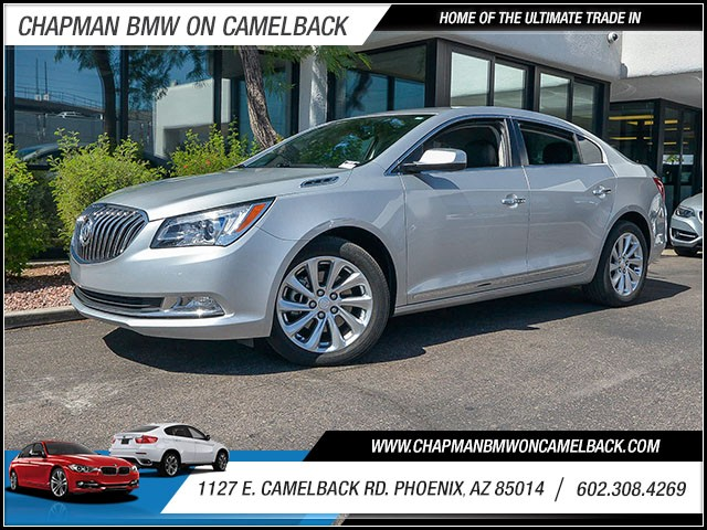2014 Buick LaCrosse 25042 miles 602 385-2286 1127 E Camelback HOME OF THE ULTIMATE TRADE IN