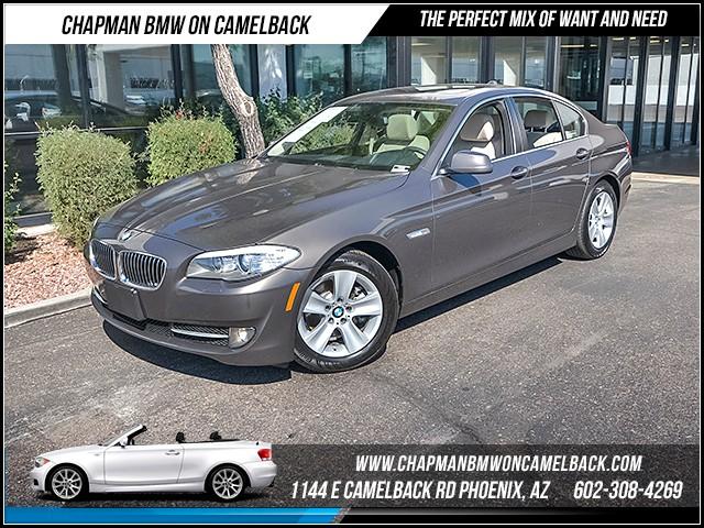 2013 BMW 5-Series 528i PremTech Pkg Nav 35137 miles 1144 E Camelback Rd 6023852286 Certif