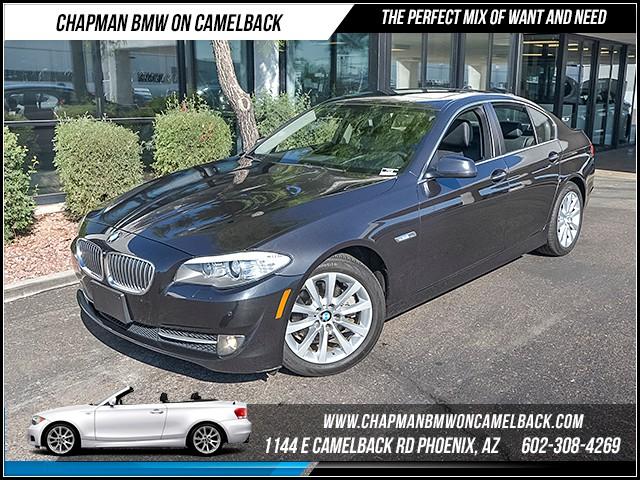 2013 BMW 5-Series 528i xDrive Prem Pkg 40374 miles 1144 E Camelback Rd 6023852286 Certifie