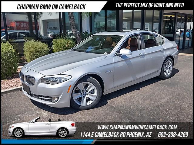 2013 BMW 5-Series 528i Prem Pkg 40142 miles 1144 E Camelback Rd 6023852286 Certified Pre O