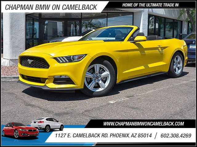 2015 Ford Mustang 45460 miles 6023852286 1127 E Camelback Rd Chapman Value center on Camelb