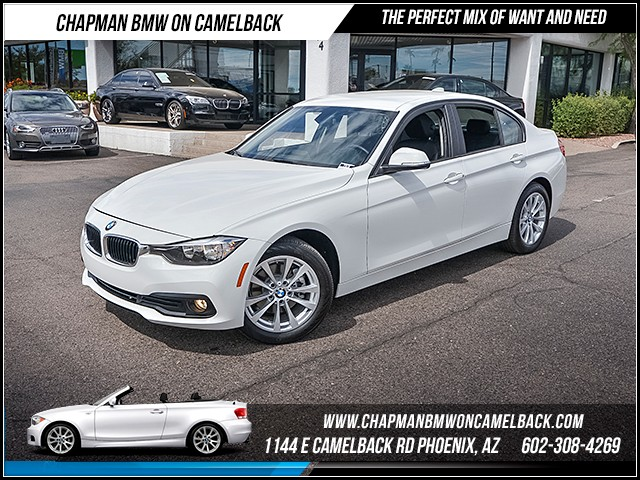 2016 BMW 3-Series 320i 5269 miles Satellite communications BMW Assist Wireless data link Bluetoo