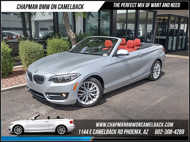 2016 BMW 2-Series 228i 9388 miles Sport Package Premium Package Phone hands free Wireless data