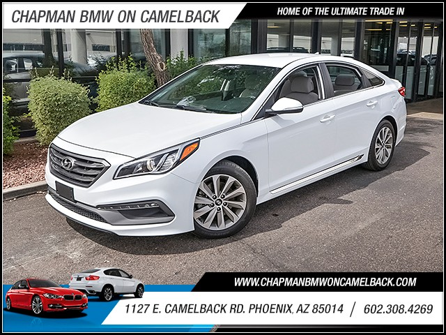 2015 Hyundai Sonata Limited 27530 miles 6023852286 1127 E Camelback Rd Chapman Value center