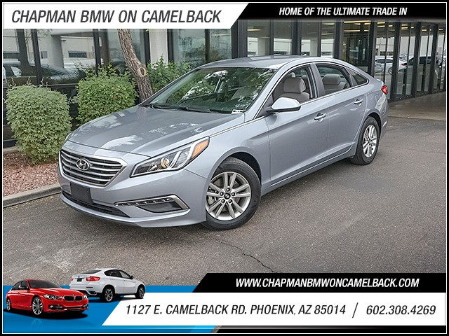 2015 Hyundai Sonata SE 27530 miles 6023852286 1127 E Camelback Rd Chapman Value center on C