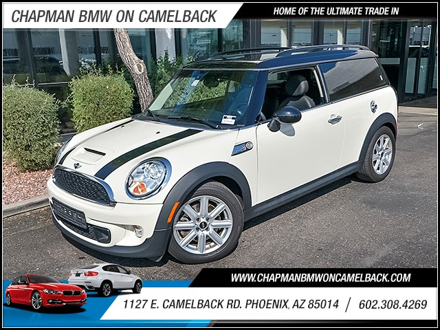2013 MINI Clubman Cooper S 50295 miles 6023852286 1127 E Camelback Rd Chapman Value center
