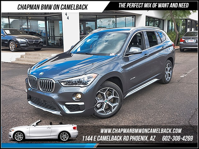 2016 BMW X1 xDrive28i Xline Prem Cold weathe 7917 miles 1144 E Camelback Rd 6023852286 Cer