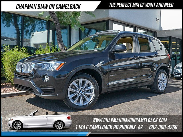 2016 BMW X3 xDrive28i 11375 miles Premium Package Driver Assistance Package Cold Weather Packag