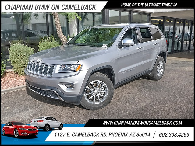 2015 Jeep Grand Cherokee Limited 40775 miles 6023852286 1127 E Camelback Rd Chapman Value c