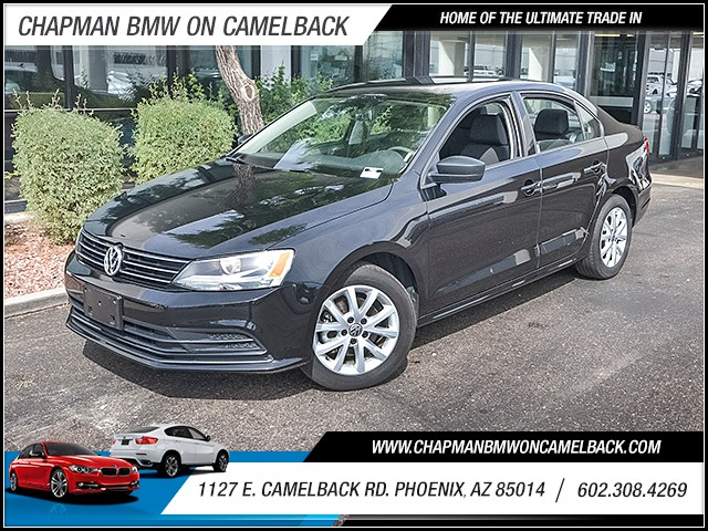 2015 Volkswagen Jetta SE PZEV 40139 miles 6023852286 1127 E Camelback Rd Chapman Value cent