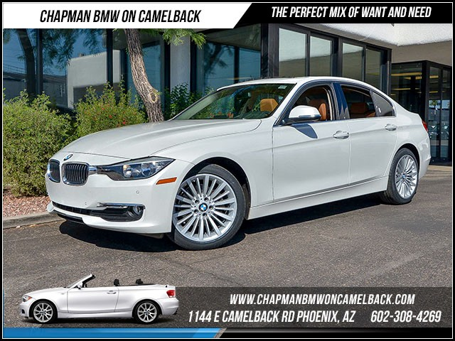 2014 BMW 3-Series Sdn 328d 24598 miles Luxury Line Driver Assistance Package Premium Package H