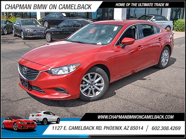 2016 Mazda Mazda6 i Sport 39401 miles Wireless data link Bluetooth Phone hands free Cruise cont