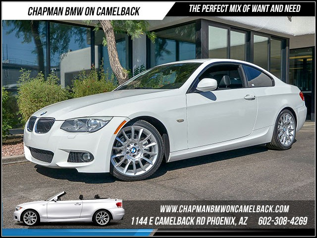 2013 BMW 3-Series Cpe 328i Mspt Pkg 40898 miles 1144 E Camelback Rd 6023852286 Certified P