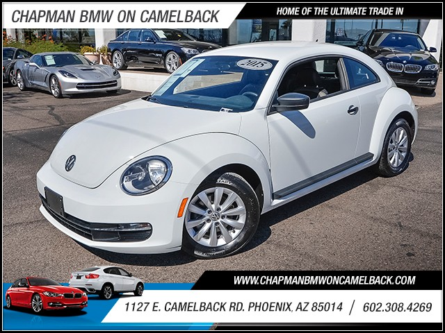 2015 Volkswagen Beetle 18T Entry PZEV 38164 miles Airbag deactivation occupant sensing passenger