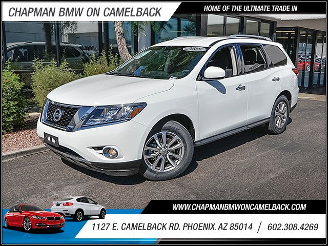 2015 Nissan Pathfinder SV 39474 miles 60238522861127 E Camelback Rd Chapman Value center on