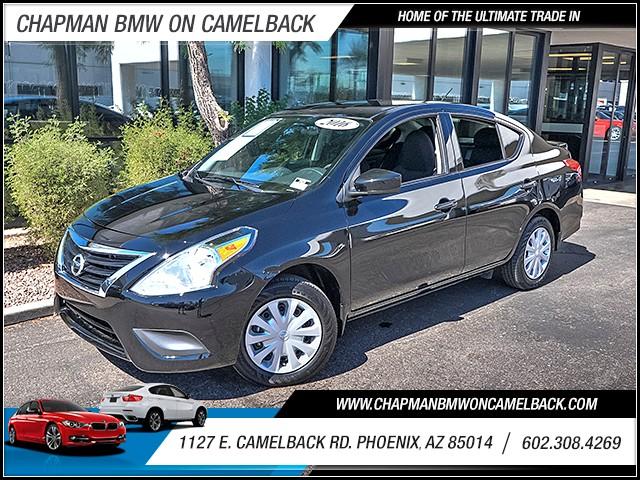 2016 Nissan Versa 16 S Plus 4328 miles 60238522861127 E Camelback Rd Chapman Value center