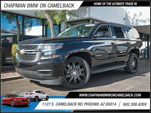 2015 Chevrolet Tahoe LT 48904 miles 60238522861127 E Camelback Rd Chapman Value center on C