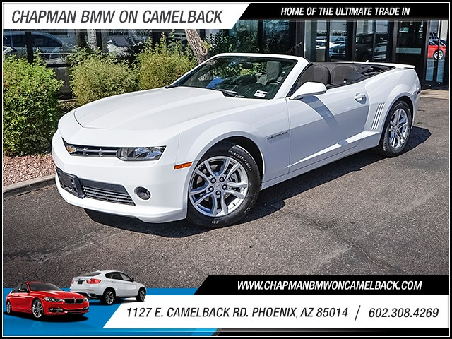 2015 Chevrolet Camaro LT 32127 miles 60238522861127 E Camelback Rd Chapman Value center on