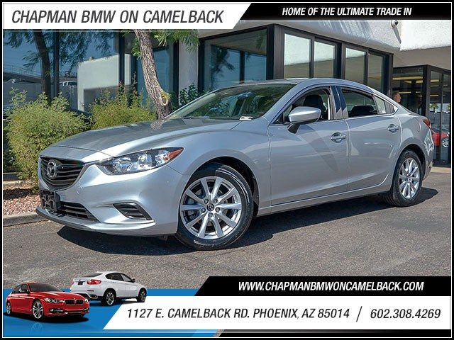2016 Mazda MAZDA6 i Sport 46405 miles Wireless data link Bluetooth Phone hands free Cruise cont