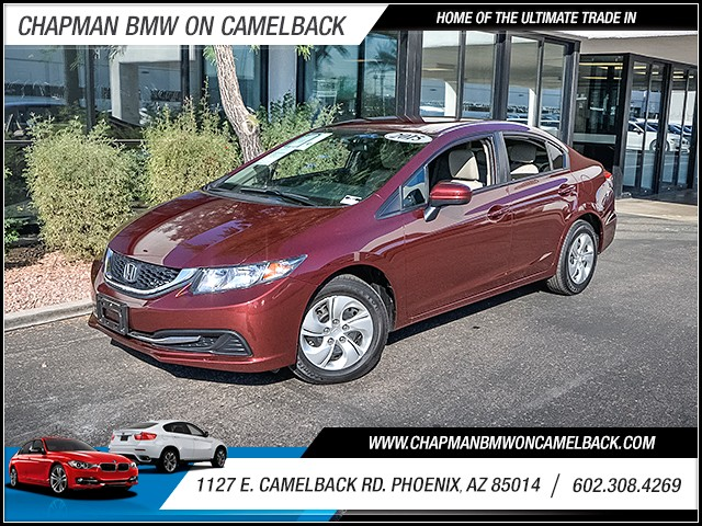2015 Honda Civic LX 20432 miles Wireless data link Bluetooth Electronic messaging assistance wit