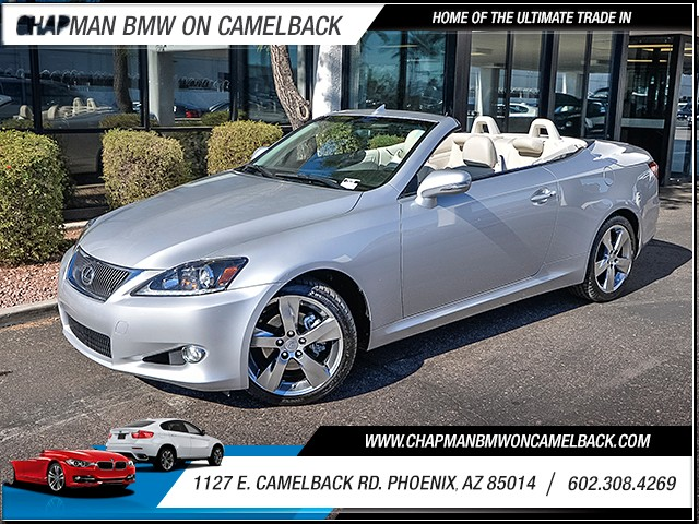 2011 Lexus IS 250C 77513 miles Wireless data link Bluetooth Phone hands free Cruise control 2-