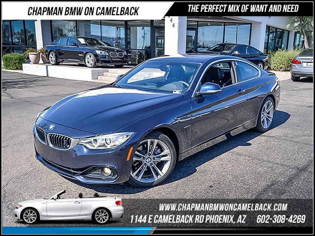 2016 BMW 4-Series 428i 6698 miles Premium Package Sport Package Satellite communications BMW As