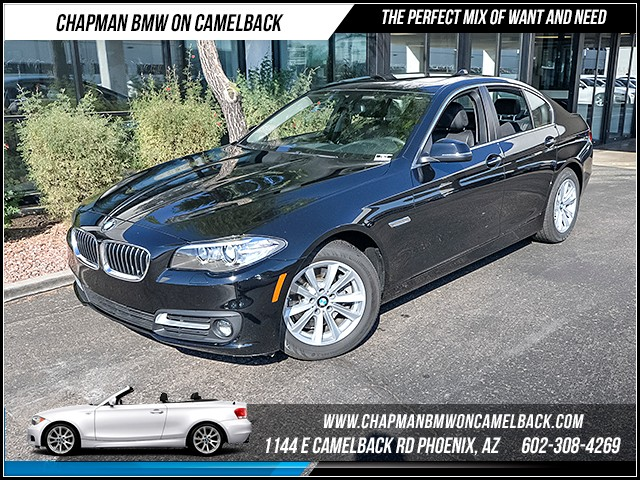 2016 BMW 5-Series 528i 5634 miles Satellite communications BMW Assist Wireless data link Bluetoo