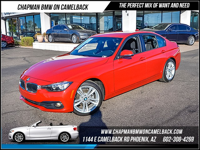 2016 BMW 3-Series Sdn 320i Sport Pkg 3156 miles 602385228612th St and Camelback Chapman BM