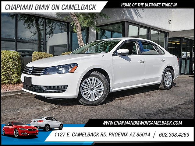 2015 Volkswagen Passat S PZEV 44607 miles PRE-OWNED YEAR END SALE Now through the end of Decem