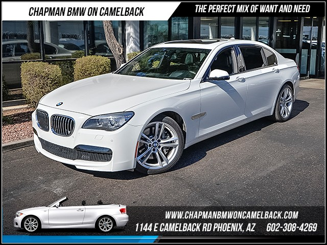2014 BMW 7-Series 750Li 34969 miles Executive Package M Sport Package Satellite communications