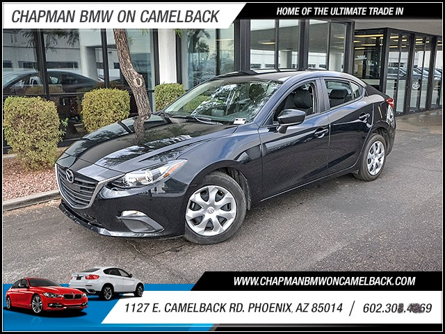 2015 Mazda MAZDA3 i Sport 39943 miles Wireless data link Bluetooth Electronic messaging assistan