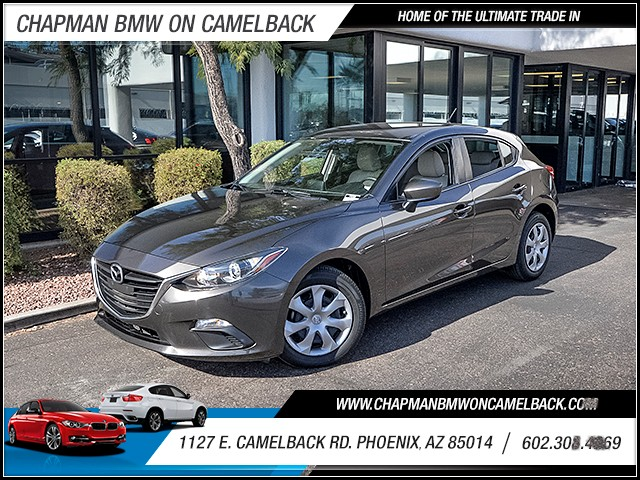 2015 Mazda MAZDA3 i Sport 10664 miles Wireless data link Bluetooth Electronic messaging assistan
