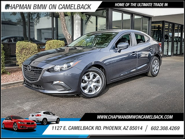 2015 Mazda MAZDA3 i Sport 30620 miles Wireless data link Bluetooth Electronic messaging assistan