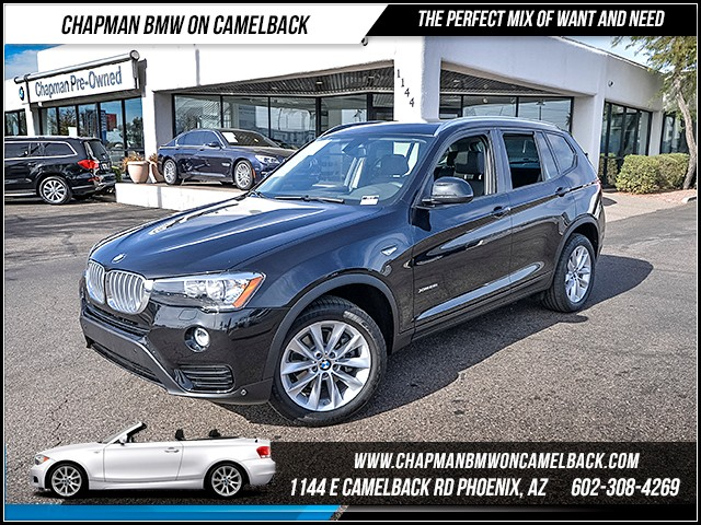 2016 BMW X3 xDrive28i Prem Tech Driver Assis 5486 miles Cold Weather Package Driving Assistance
