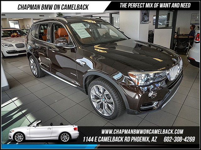 2016 BMW X3 sDrive28i Xline Prem Tech Nav Hk 12495 miles xLine Lighting Package Premium Package