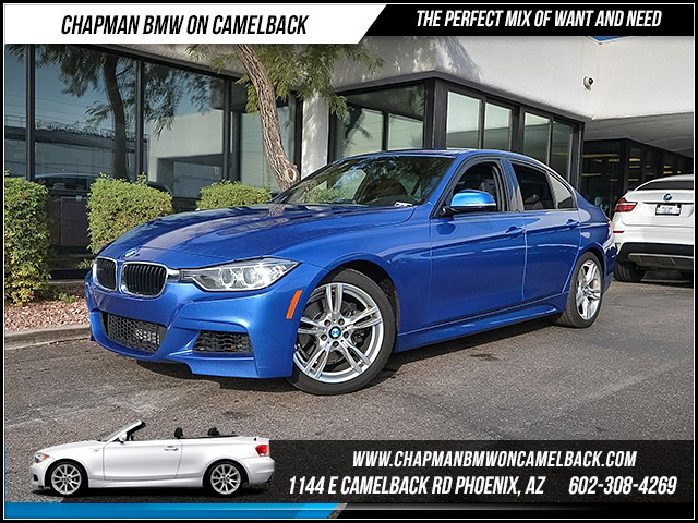 2014 BMW 3-Series Sdn 328i 51647 miles M Sport Package Lighting Package Harman Kardon surround