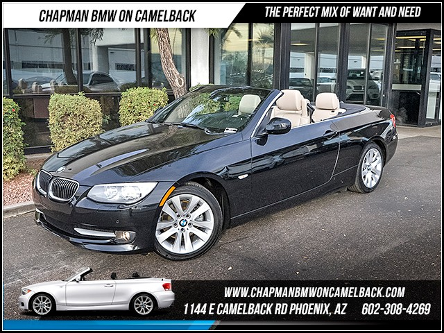 2013 BMW 3-Series Conv 328i Conv Prem Nav 29446 miles Convenience Package Premium Package Heate