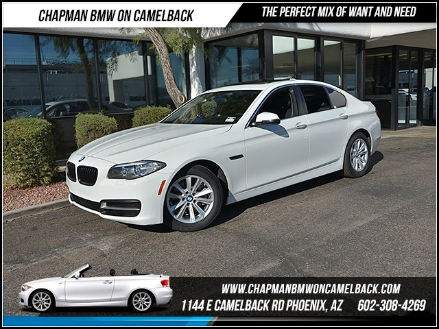 2014 BMW 5-Series 528i 46021 miles Satellite communications BMW Assist Wireless data link Blueto