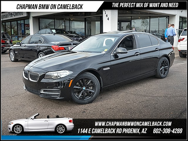 2014 BMW 5-Series 528i 36956 miles Phone hands free Real time traffic Wireless data link Blueto