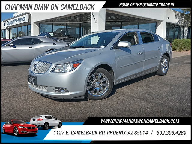 2012 Buick LaCrosse Premium 66148 miles 6023852286 1127 E Camelback Rd Chapman Value center
