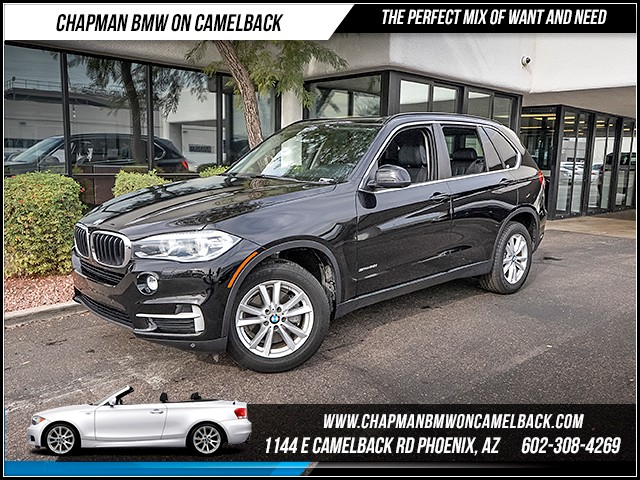 2014 BMW X5 sDrive35i 29986 miles 6023852286 12th St and Camelback Chapman BMW on Camelbac