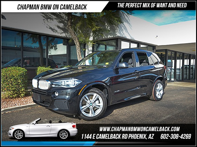 2014 BMW X5 xDrive50i 35333 miles 6023852286 12th St and Camelback Chapman BMW on Camelbac